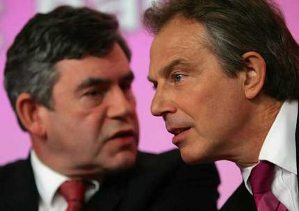 Blair and Brown